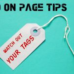 SEO On Page: limpieza de tags