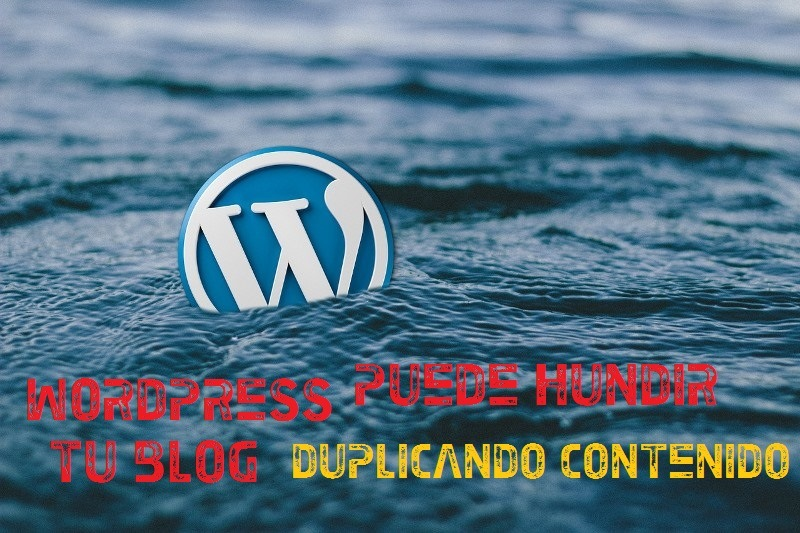 wordpress duplica contenido