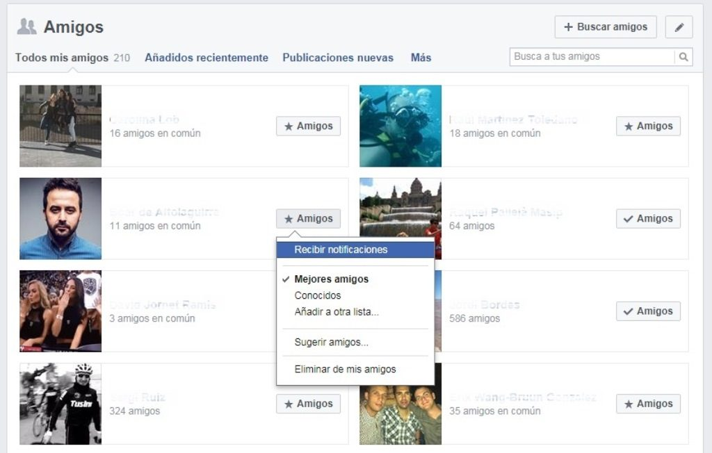 grado de afinidad edge rank facebook