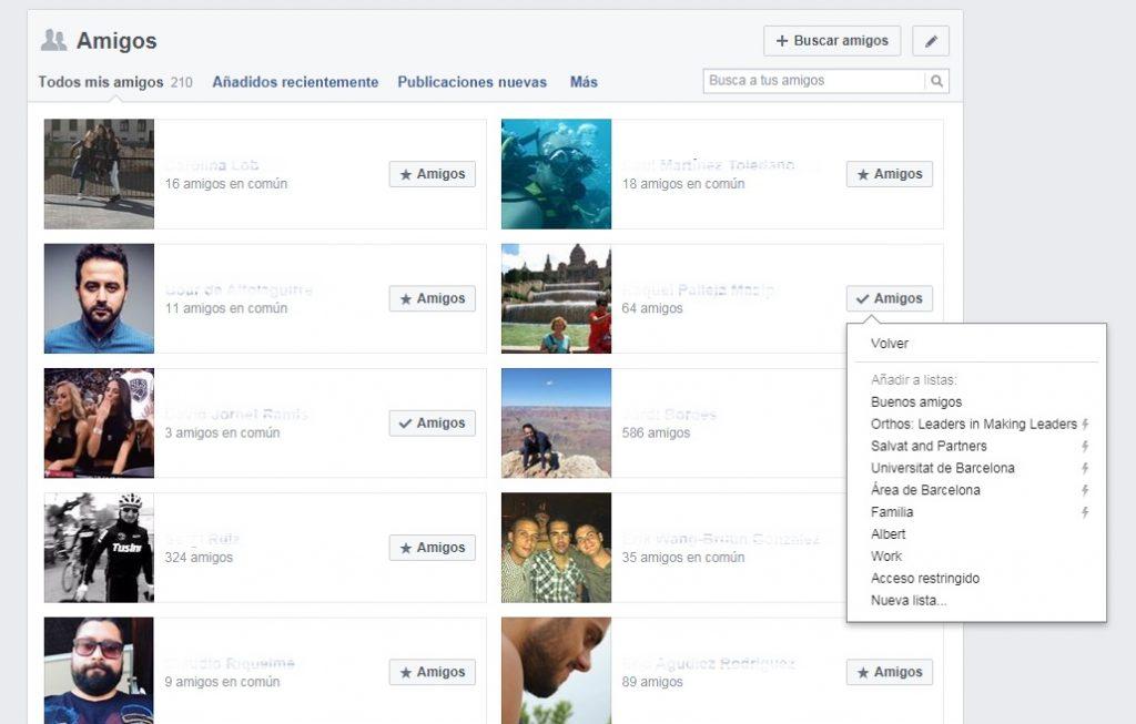 edge rank facebook grado de afinidad